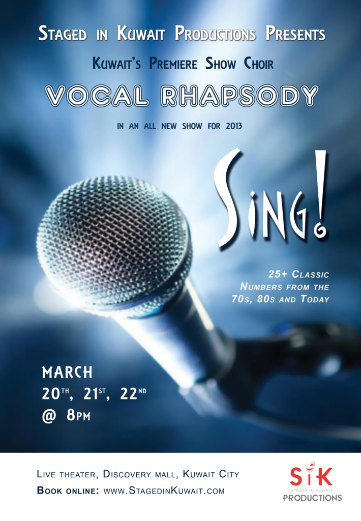 Sing-March 20-22