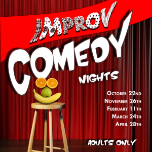 OCTOBER COMEDY NIGHT