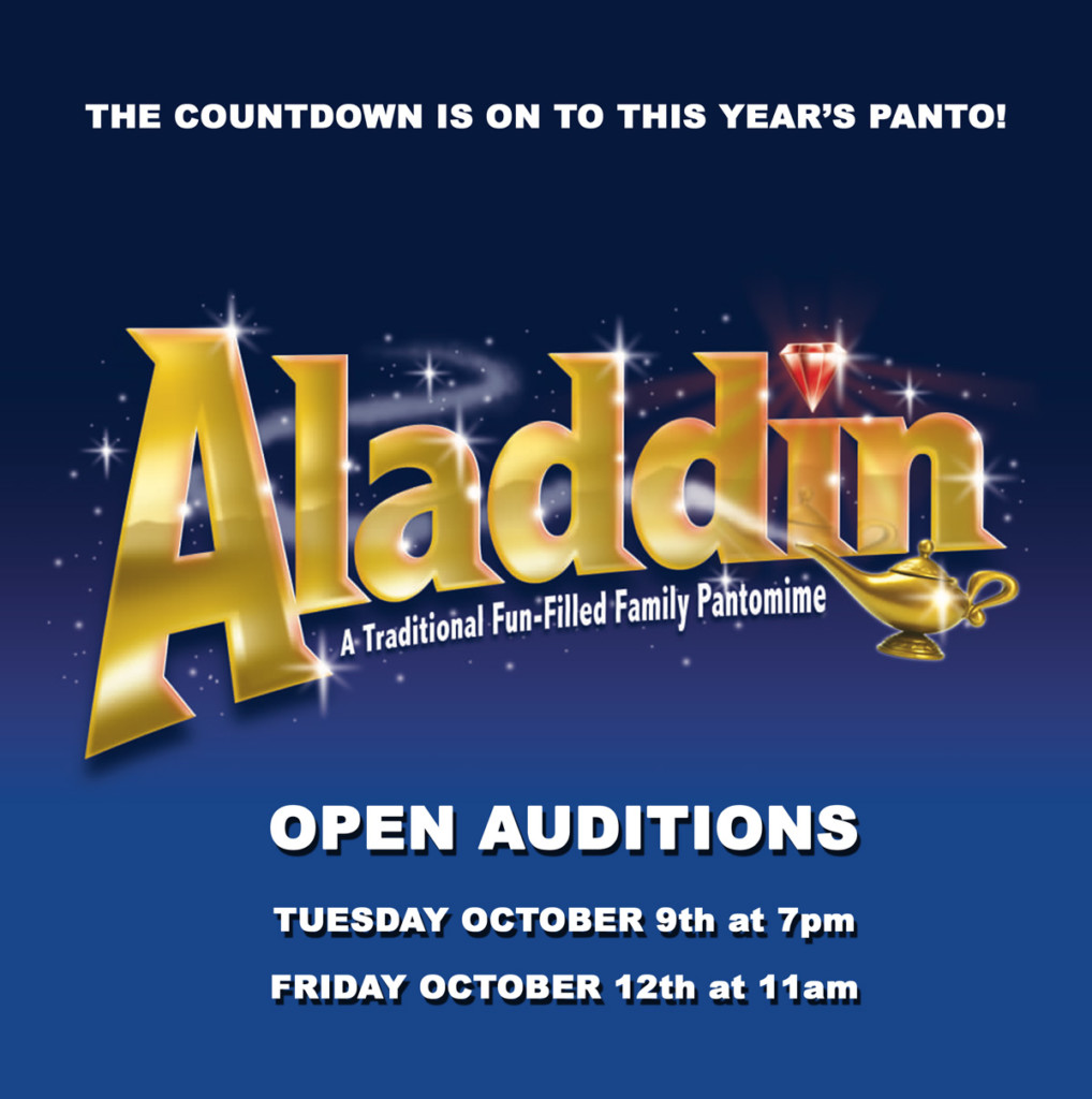 Open auditions for Panto