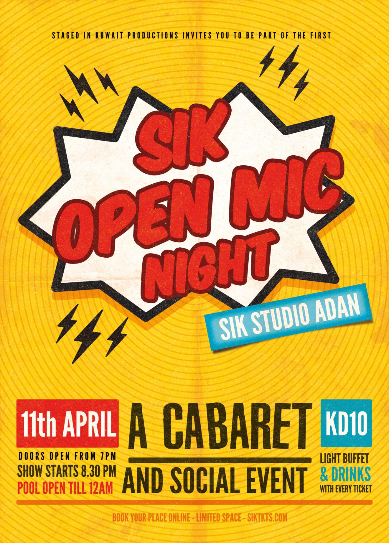 SIK-OPEN-MIC