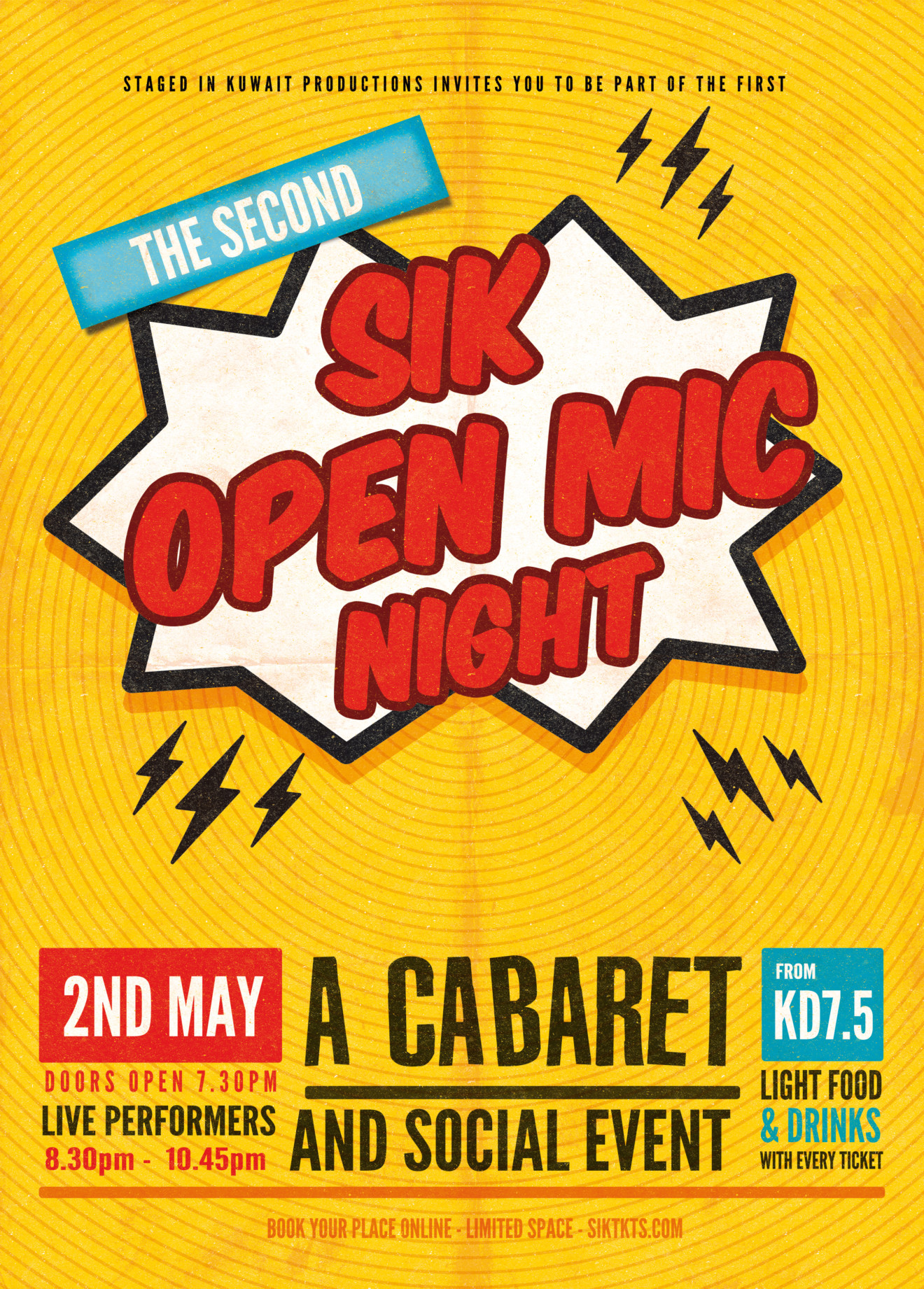 OPEN MIC 2 Poster